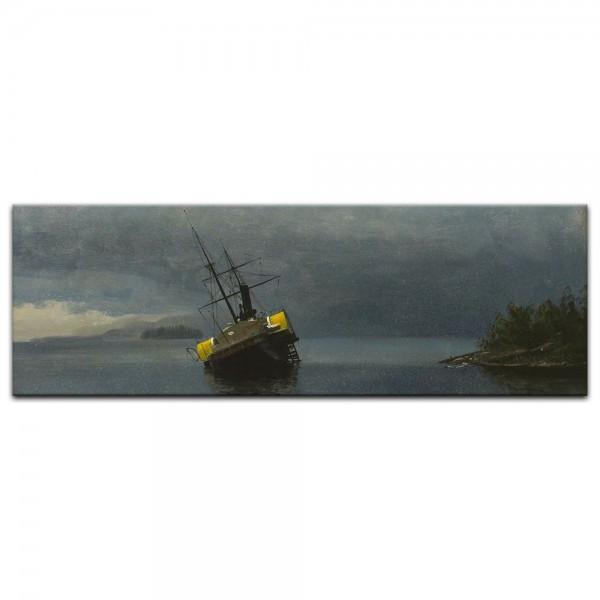 Leinwandbild - Albert Bierstadt - Wreck of the Ancon